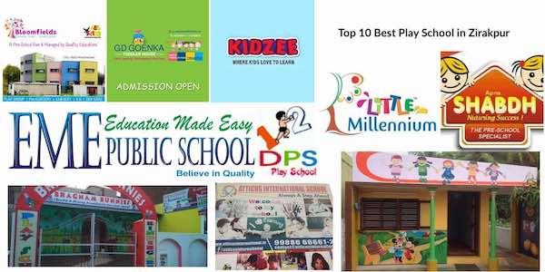 Top 10 Best Play School in Zirakpur