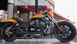 Harley Davidson Comic Starship