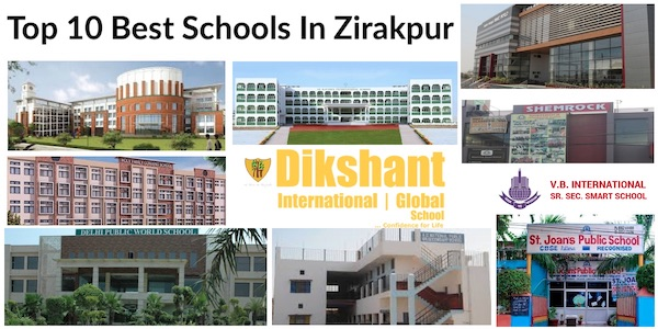 Top 10 Best Schools In Zirakpur