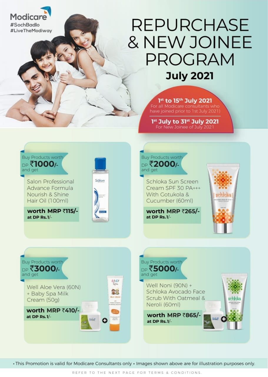 Modicare Products Offers