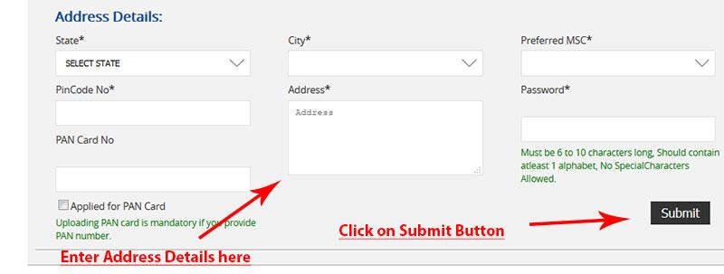 Modicare Online registration steps