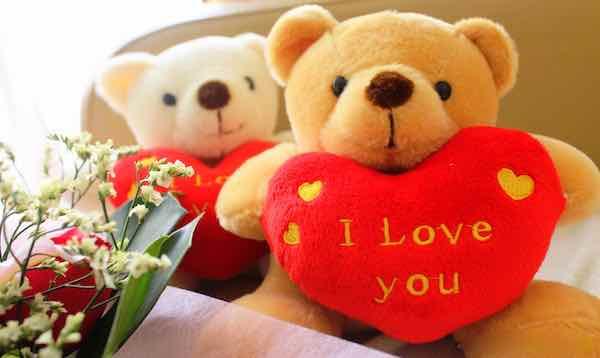Hearty Couple Bear