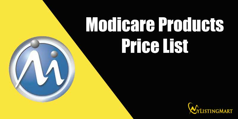 Modicare Product Price List