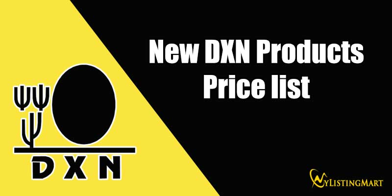 New DXN Products Price list