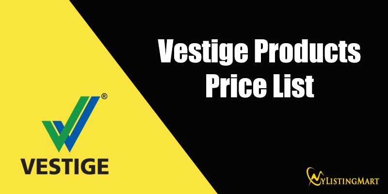Vestige Products Price List