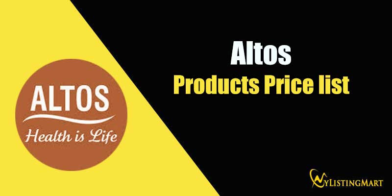 Altos Products Price list