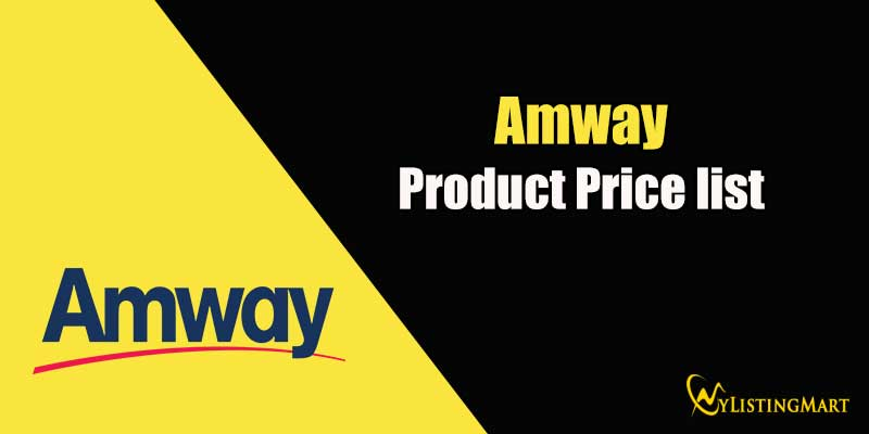 Amway Product Price list