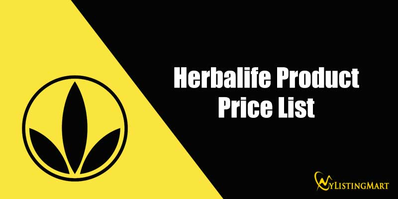 Herbalife Product Price List
