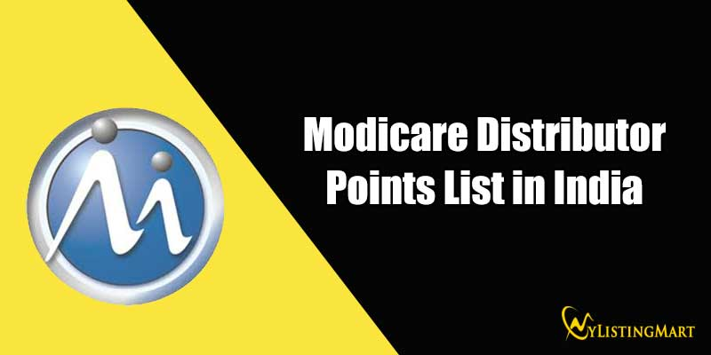 Modicare Distributor Points List in India
