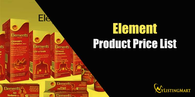 Element Products Price list