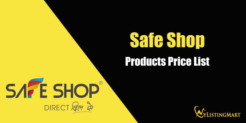 Safe Shop Products price list