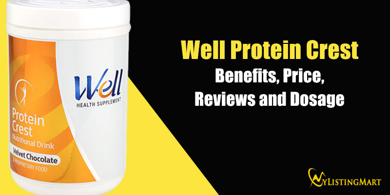 Well Protein Crest benefits