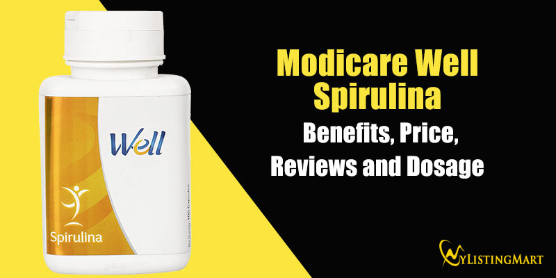 Modicare spirulina Benefits