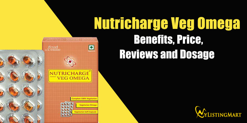 Nutricharge Veg Omega Benefits