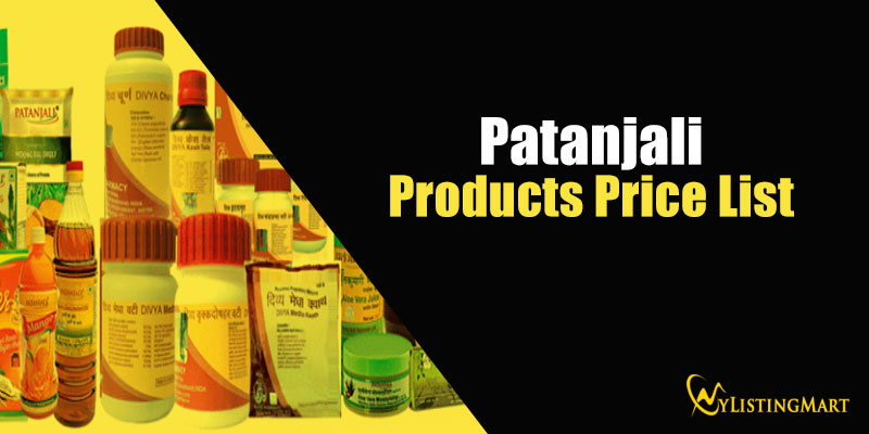Patanjali Products Price List